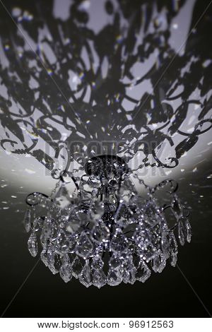 Beautiful Glassy Chandelier