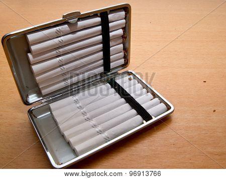 Cigarette tray.