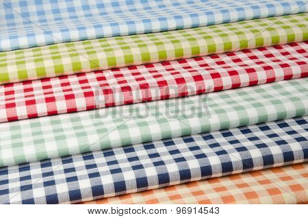 Multi-colored Kitchen Towels