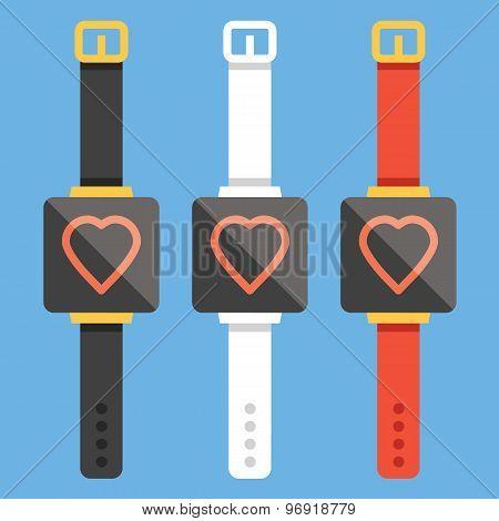 Smart watches concepts set