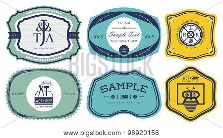 Vintage labels 4