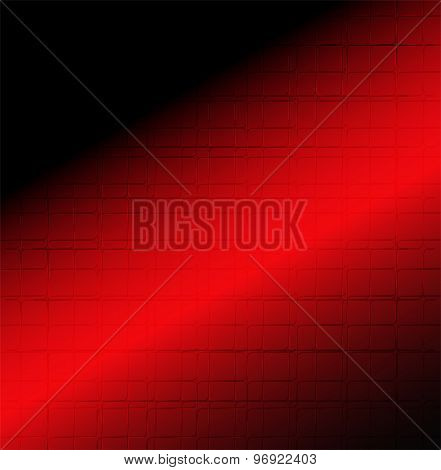 Modern red and black background abstraction
