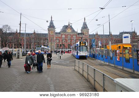 The Central Station Building - Amsterdam, Netherlands