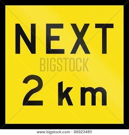 Next 2 Km In Australia