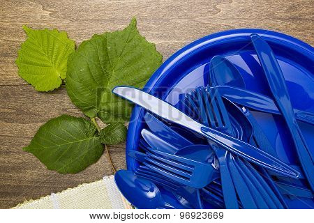 Plastic Ware For Picnic