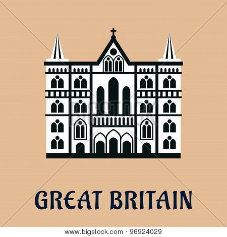Great Britain landmark flat icon