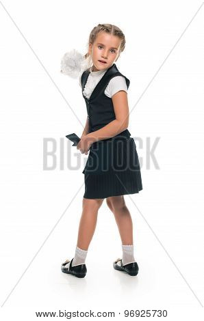 playful schoolgirl