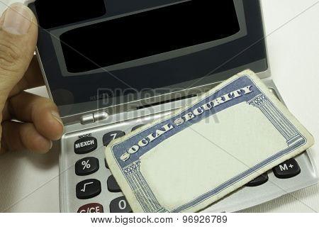 Blank Social Security Card