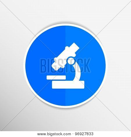 icon vector researching research medicine equipment microscope