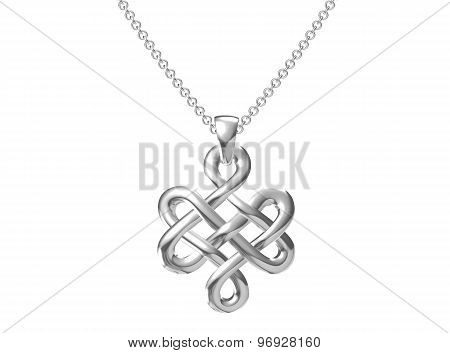 Pendant On White Background.