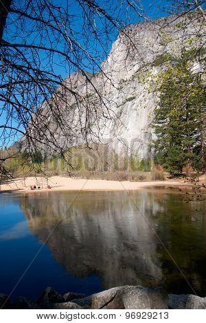 Water In Yosemite Park