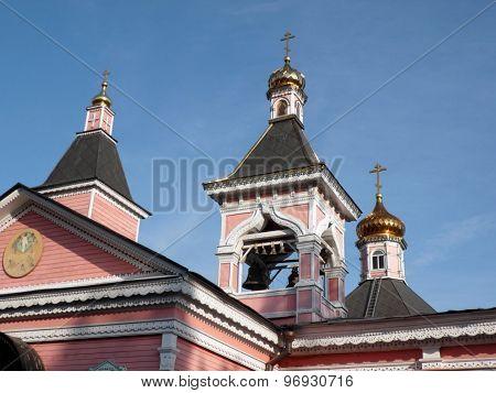 Old Wood Temple Bogorodskiy