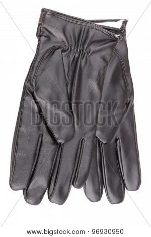 Leather Gloves Isolated