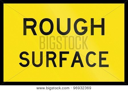 Rough Surface In Australia