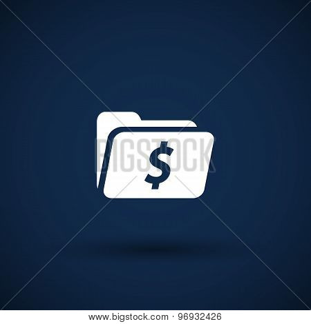 Shopping Dollar Folder file icon internet symbol