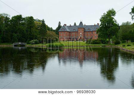 Big Beautiful Mansion House Estate Denmark