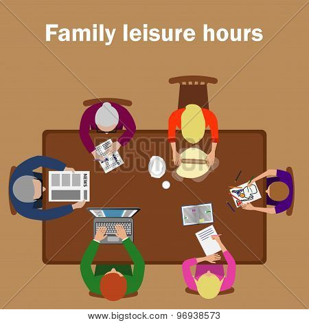 Family Leisure Hours