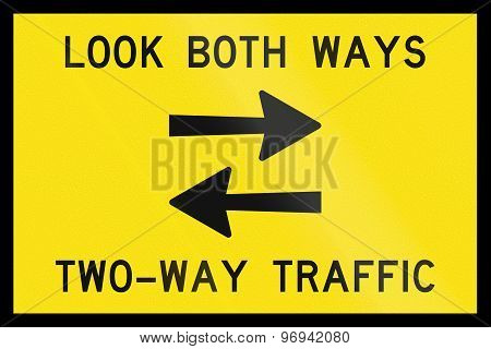 Look Both Ways In Australia