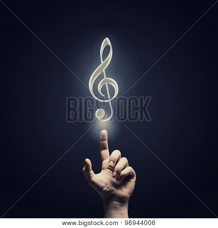 Music concept icon
