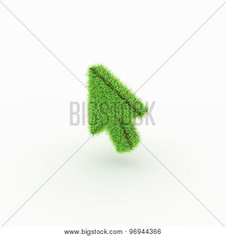 Green Icon - arrow, cursor
