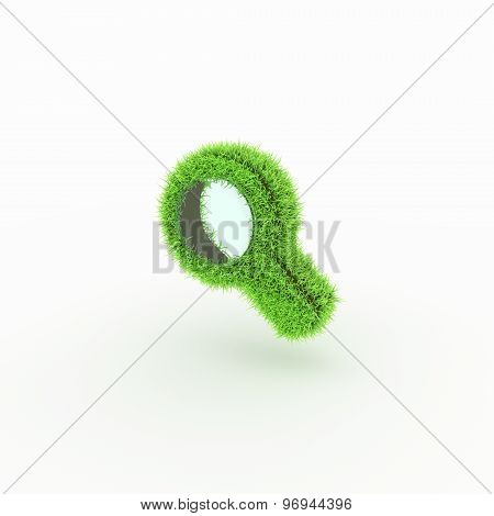 Green Icon - magnifier