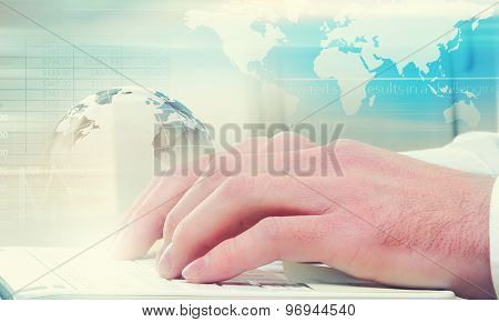 E-business concept