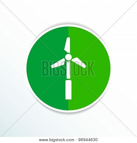 icon vector tower electric floor generator propeller