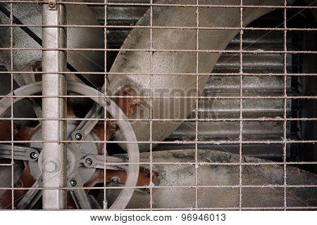Old Factory Fan