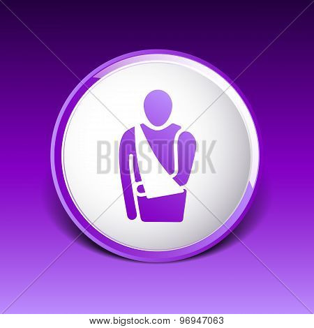 Medical Flat Icon. Vector Pictogram. EPS 10