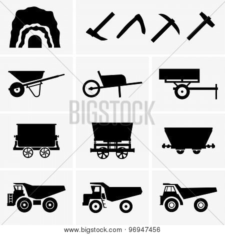 Mining tools and transport
