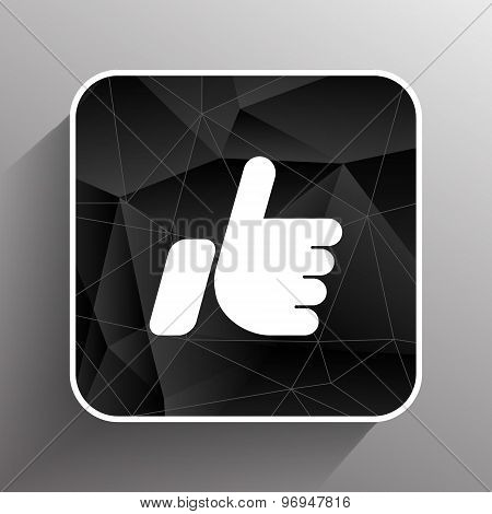 like icon vector line isolated outline ok