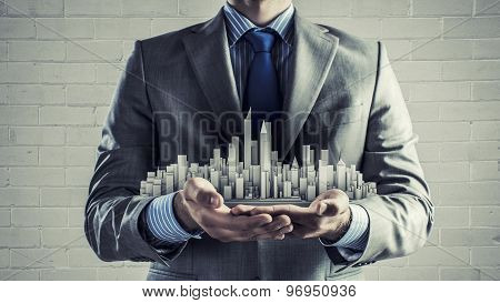 Presenting development project