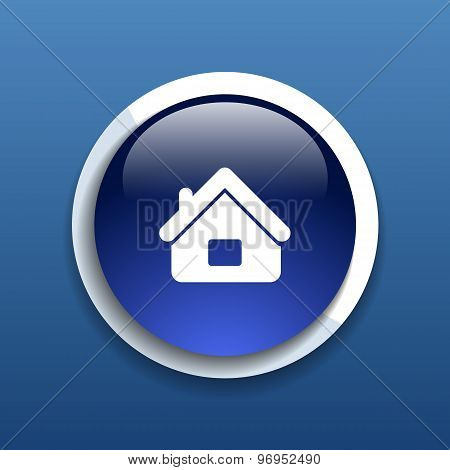 House icon home symbol vector element