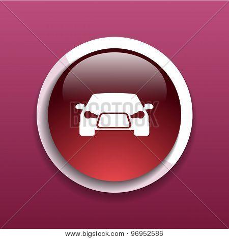 automobile icon car vector vehicle automotive