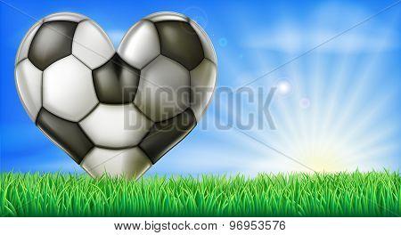 Heart Shaped Football Ball