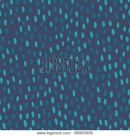 Seamless pattern with short hand drawn strokes