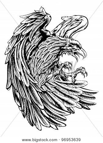 Vintage Style Eagle