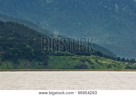 shore of Sakhalin island