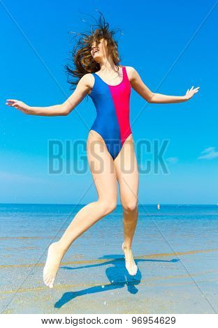Exercising Model Funny Girl