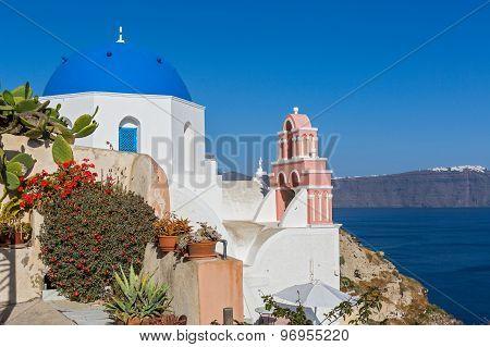 Greece, Island Of Santorini.