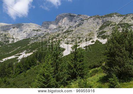 View at the Dogs Head Mountain. Austria Tirol