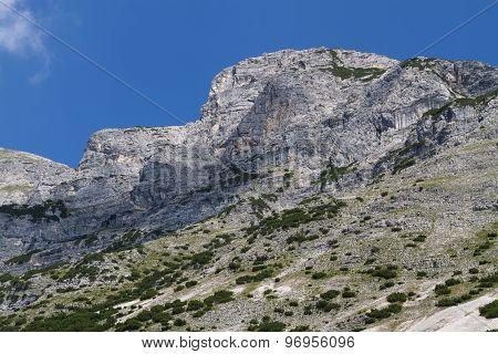 Dogs Head Mountain. Austria Tirol Gnadenwald