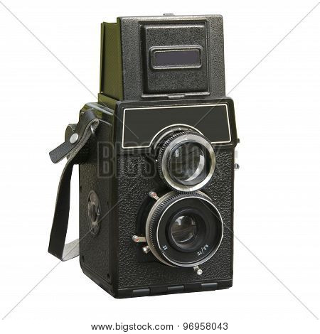 Two Lens Photo Camera