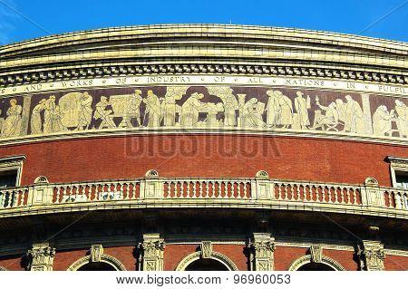 Frieze of the Royal Albert Hall