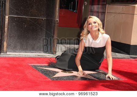 LOS ANGELES - JUL 24:  Kristin Chenoweth at the Kristin Chenoweth Hollywood Walk of Fame Star Ceremony at the Hollywood Blvd on July 24, 2015 in Los Angeles, CA