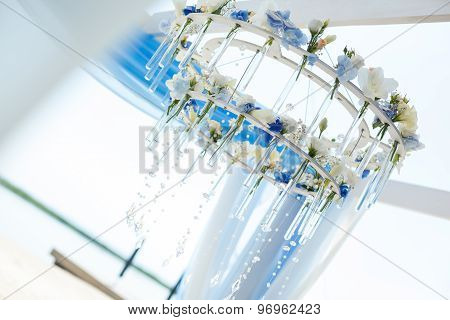 Chandelier Of Flowers