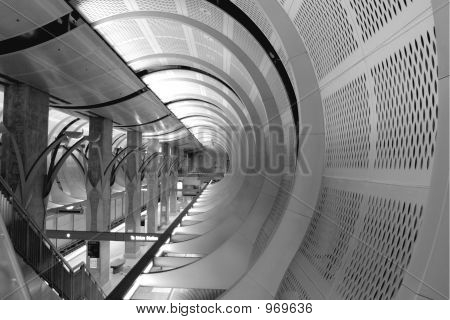 Subway_Station_Bw