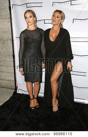 LOS ANGELES - JUL 23:  Shannon Bex, Aubrey O'Day at the Michael Costello And Style PR Capsule Collection Launch Party  at the Private Location on July 23, 2015 in Los Angeles, CA