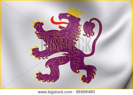 Kingdom Of Leon Flag