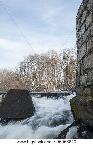 Slater Mill Spillway